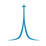 Christ Memorial Presbyterian Church Steeple Logo