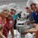 Members at Christ Memorial Presbyterian Church volunteering for Stop Hunger Now.